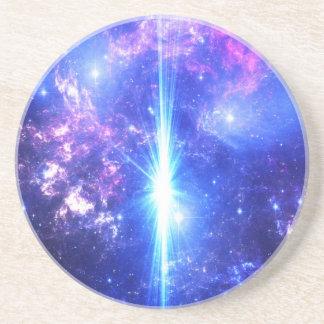 Porta-copos De Arenito Céus iridescentes