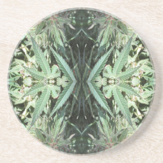 Porta-copos De Arenito Chamas 2 do cristal