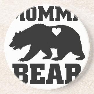 Porta-copos De Arenito Citações do presente do urso de Momma as melhores
