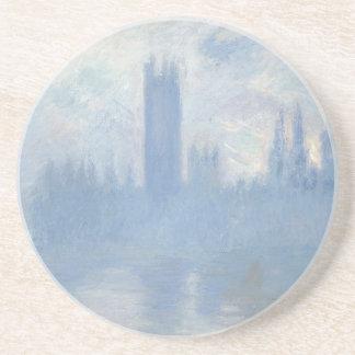 Porta-copos De Arenito Claude Monet - casas da arte de Londres do