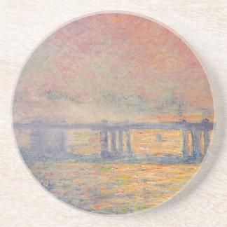 Porta-copos De Arenito Claude Monet - Saint Louis da ponte transversal de
