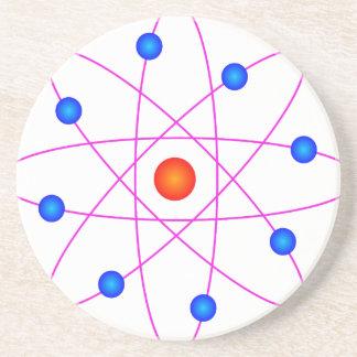 Porta-copos De Arenito clipart modelo do vetor do átomo