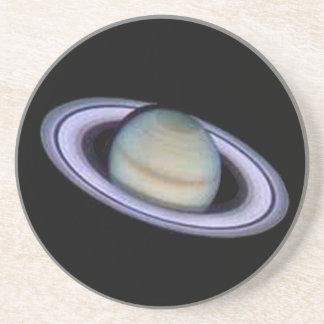 Porta-copos De Arenito Coaster. de Saturn do planeta