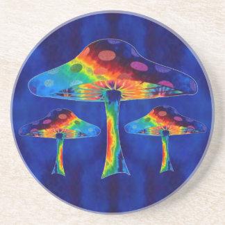 Porta-copos De Arenito Cogumelos mágicos