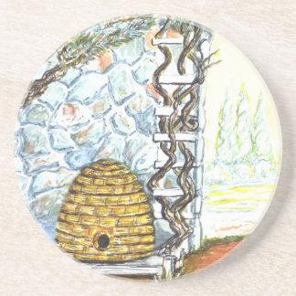 Porta-copos De Arenito colheita do rockwall