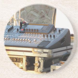 Porta-copos De Arenito Console de mistura audio profissional