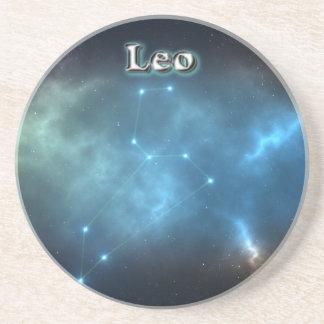 Porta-copos De Arenito Constelação de Leo