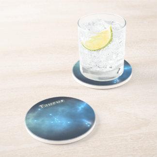 Porta-copos De Arenito Constelação do Taurus