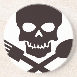 Porta-copos De Arenito Cozinheiro do pirata