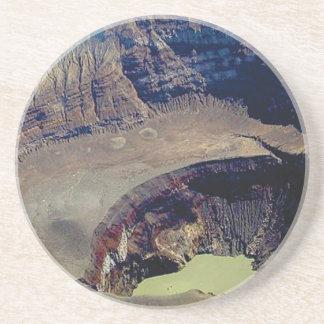 Porta-copos De Arenito cratera vulcânica profunda