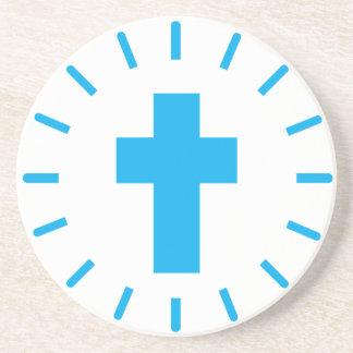 Porta-copos De Arenito Cruz do Jesus Cristo