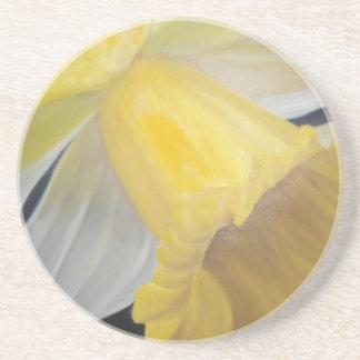 Porta-copos De Arenito Daffodil amarelo