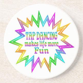 Porta-copos De Arenito Dança de torneira mais divertimento