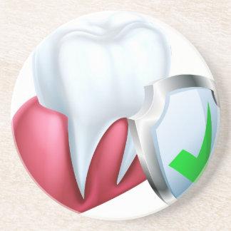 Porta-copos De Arenito Dente e goma do protetor
