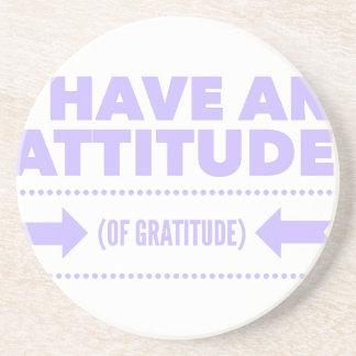 Porta-copos De Arenito Desintoxicação AA da recuperação da gratitude da