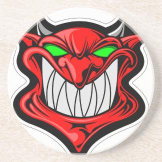 Porta-copos De Arenito Diabo dos desenhos animados