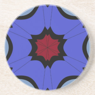 Porta-copos De Arenito dias chuvosos sob céus do guarda-chuva