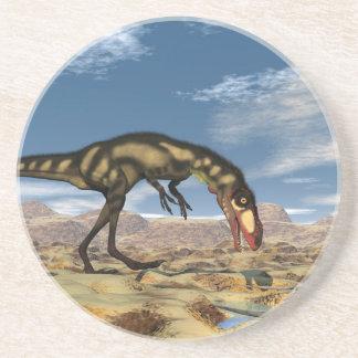 Porta-copos De Arenito Dinossauro de Dilong - 3D rendem