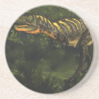 Porta-copos De Arenito Dinossauro do Aucasaurus - 3D rendem