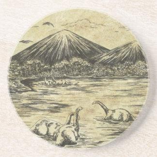 Porta-copos De Arenito Dinossauros