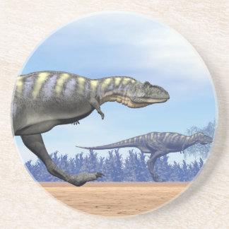 Porta-copos De Arenito Dinossauros do Aucasaurus que funcionam - 3D