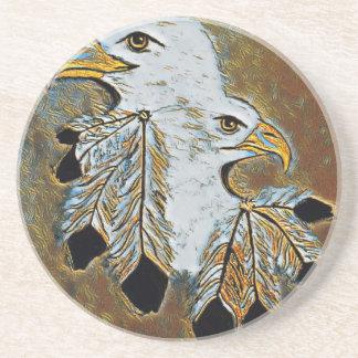 Porta-copos De Arenito Dois Eagles