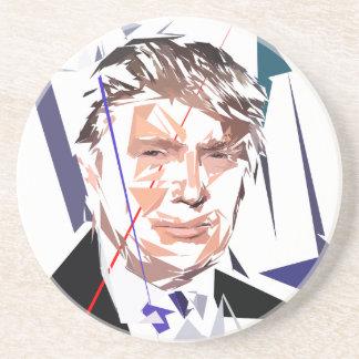 Porta-copos De Arenito Donald Trump