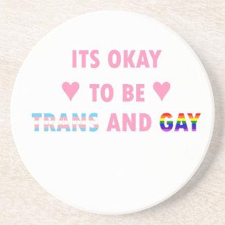 Porta-copos De Arenito É aprovado ser o transporte e o gay (v1)
