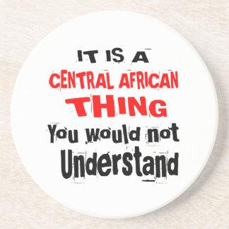 PORTA-COPOS DE ARENITO É DESIGN DA ÁFRICA CENTRAL DA COISA