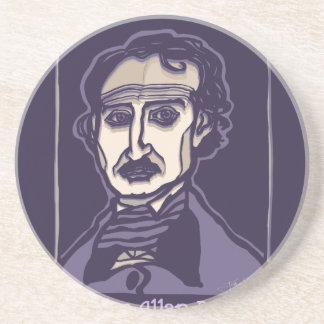 Porta-copos De Arenito Edgar Allan Poe por FacePrints