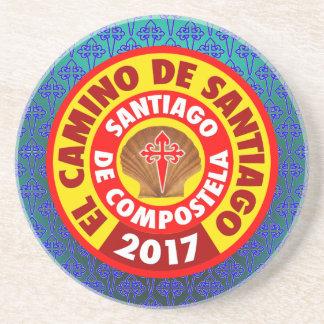 Porta-copos De Arenito EL Camino de Santiago 2017