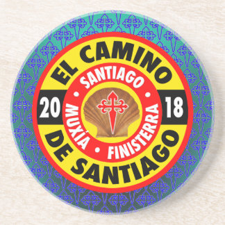 Porta-copos De Arenito EL Camino de Santiago 2018