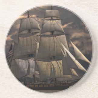 Porta-copos De Arenito Embarcação do navio de navigação