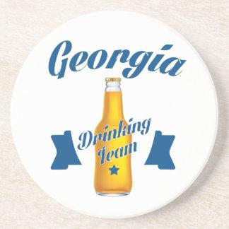 Porta-copos De Arenito Equipe do bebendo de Geórgia
