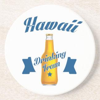 Porta-copos De Arenito Equipe do bebendo de Havaí
