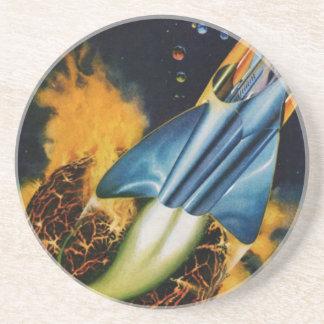 Porta-copos De Arenito Escape do planeta de explosão