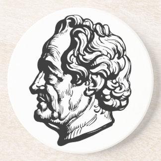 Porta-copos De Arenito Escritor alemão Goethe
