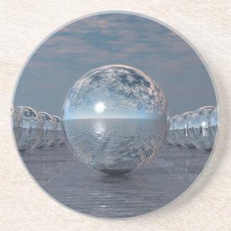 Porta-copos De Arenito Esferas em The Sun