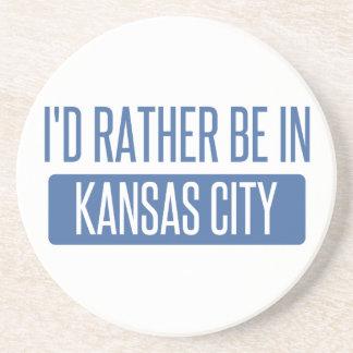 Porta-copos De Arenito Eu preferencialmente estaria em Kansas City MO