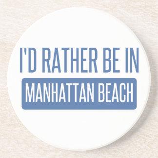 Porta-copos De Arenito Eu preferencialmente estaria em Manhattan Beach