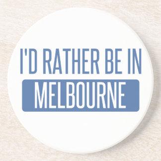 Porta-copos De Arenito Eu preferencialmente estaria em Melbourne