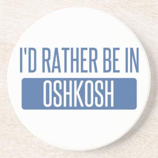 Porta-copos De Arenito Eu preferencialmente estaria em Oshkosh