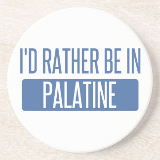 Porta-copos De Arenito Eu preferencialmente estaria em Palatine