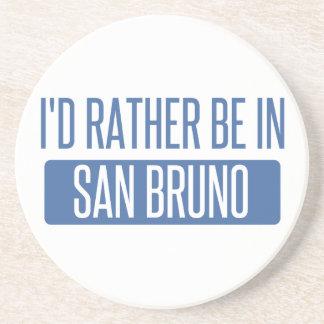 Porta-copos De Arenito Eu preferencialmente estaria em San Bruno