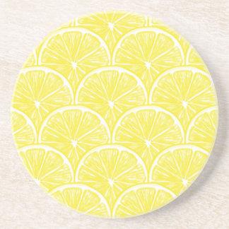Porta-copos De Arenito Fatias do limão