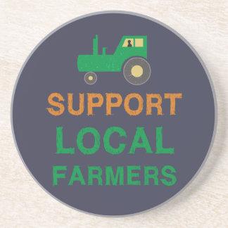 Porta-copos De Arenito Fazendeiros do Local do apoio