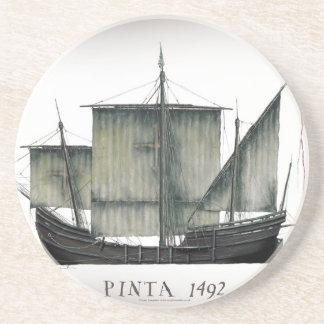 Porta-copos De Arenito Fernandes 1492 tony de Pinta