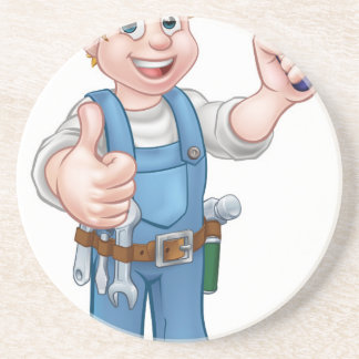 Porta-copos De Arenito Ferramenta do Trowel do trabalhador da construção