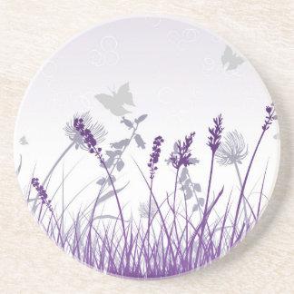 Porta-copos De Arenito Floral, arte, design, bonito, novo, forma