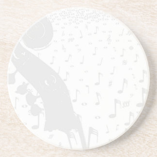 Porta-copos De Arenito Fundo da música clássica